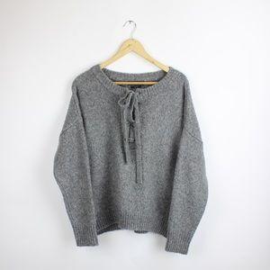 🔥Price Drop 🔥Zara Lace Up Sweater